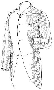 Визитка - костюм для свадьбы